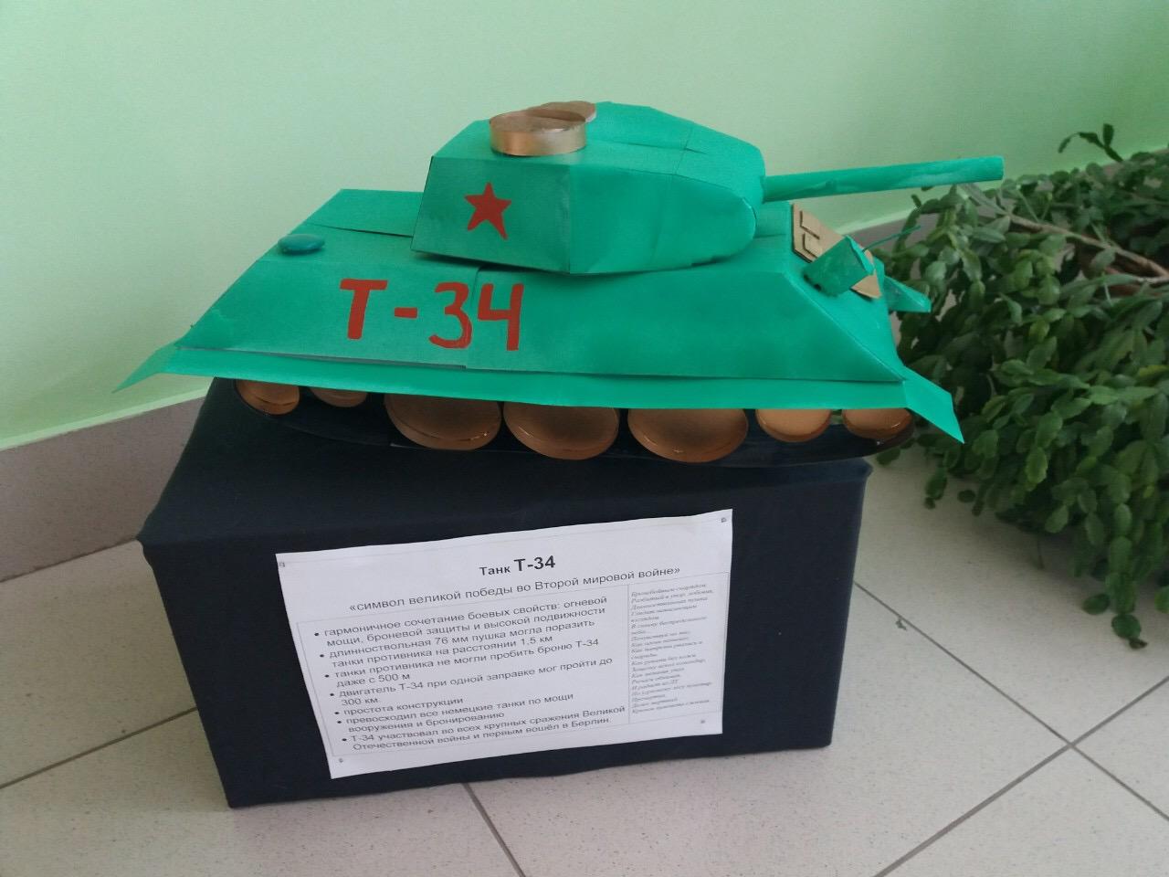 Макет танка Т-34